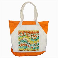 Retro Watercolors                                                      			accent Tote Bag by LalyLauraFLM