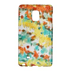 Retro Watercolors                                                     			samsung Galaxy Note Edge Hardshell Case by LalyLauraFLM