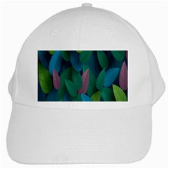 Leaf Rainbow White Cap