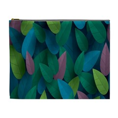 Leaf Rainbow Cosmetic Bag (xl) by Jojostore