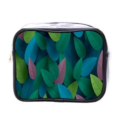 Leaf Rainbow Mini Toiletries Bags