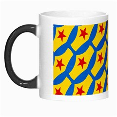 Images Album Heart Frame Star Yellow Blue Red Morph Mugs by Jojostore