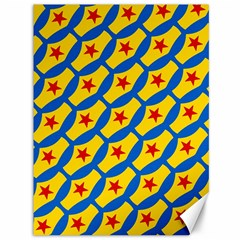 Images Album Heart Frame Star Yellow Blue Red Canvas 36  X 48