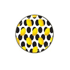Orange Lime Fruit Yellow Hole Hat Clip Ball Marker (10 Pack) by Jojostore