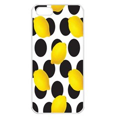 Orange Lime Fruit Yellow Hole Apple Iphone 5 Seamless Case (white) by Jojostore
