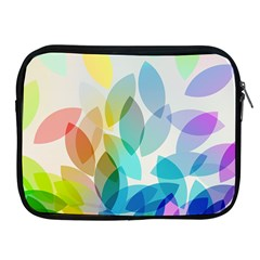 Leaf Rainbow Color Apple Ipad 2/3/4 Zipper Cases