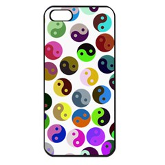 Ying Yang Seamless Color Cina Apple Iphone 5 Seamless Case (black)
