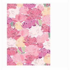 Peonies Flower Floral Roes Pink Flowering Large Garden Flag (two Sides) by Jojostore
