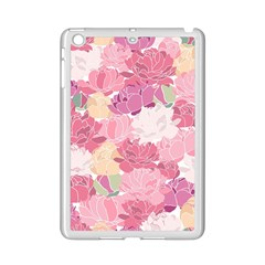 Peonies Flower Floral Roes Pink Flowering Ipad Mini 2 Enamel Coated Cases by Jojostore