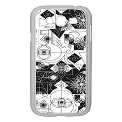Point Line Plane Themed Original Design Samsung Galaxy Grand Duos I9082 Case (white) by Jojostore