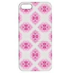 Peony Photo Repeat Floral Flower Rose Pink Apple Iphone 5 Hardshell Case With Stand