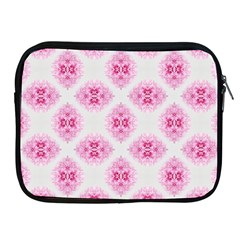 Peony Photo Repeat Floral Flower Rose Pink Apple Ipad 2/3/4 Zipper Cases