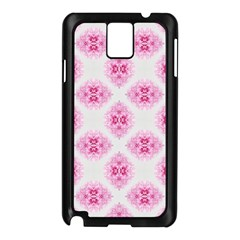 Peony Photo Repeat Floral Flower Rose Pink Samsung Galaxy Note 3 N9005 Case (black) by Jojostore