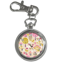 Retro Fruit Leaf Tree Orchard Key Chain Watches by Jojostore