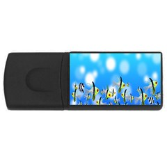 Pisces Underwater World Fairy Tale Usb Flash Drive Rectangular (4 Gb)