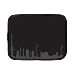 Windmild City Building Grey Netbook Case (small)