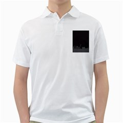 Windmild City Building Grey Golf Shirts