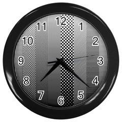 Semi Authentic Screen Tone Gradient Pack Wall Clocks (black) by Jojostore