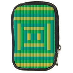 Pattern Grid Squares Texture Compact Camera Cases by Nexatart