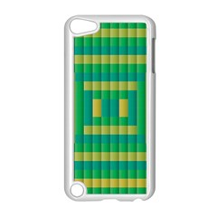Pattern Grid Squares Texture Apple Ipod Touch 5 Case (white) by Nexatart