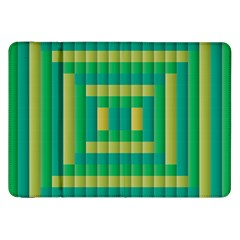 Pattern Grid Squares Texture Samsung Galaxy Tab 8 9  P7300 Flip Case by Nexatart