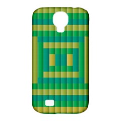 Pattern Grid Squares Texture Samsung Galaxy S4 Classic Hardshell Case (pc+silicone)