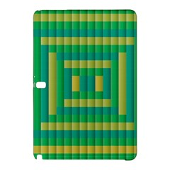 Pattern Grid Squares Texture Samsung Galaxy Tab Pro 12 2 Hardshell Case by Nexatart