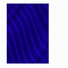 Sparkly Design Blue Wave Abstract Large Garden Flag (two Sides) by Jojostore