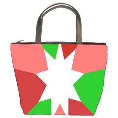 Star Flag Color Bucket Bags