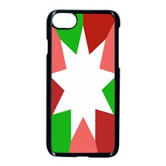 Star Flag Color Apple Iphone 7 Seamless Case (black)