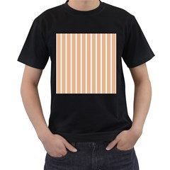 Symmetric Grid Foundation Men s T-shirt (black) (two Sided) by Jojostore
