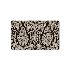 Wild Textures Damask Wall Cover Magnet (name Card) by Jojostore