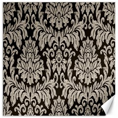 Wild Textures Damask Wall Cover Canvas 12  X 12