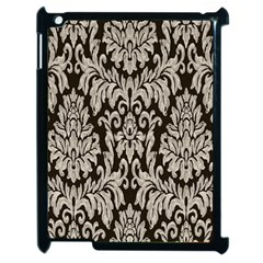 Wild Textures Damask Wall Cover Apple Ipad 2 Case (black)