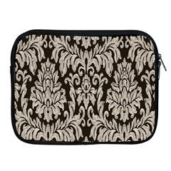 Wild Textures Damask Wall Cover Apple Ipad 2/3/4 Zipper Cases