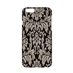 Wild Textures Damask Wall Cover Apple Iphone 6/6s Hardshell Case by Jojostore
