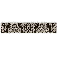 Wild Textures Damask Wall Cover Flano Scarf (large)