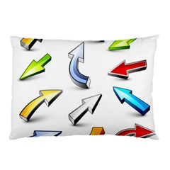 Three Dimensional Crystal Arrow Pillow Case