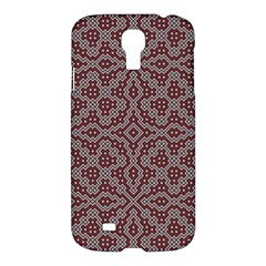 Simple Indian Design Wallpaper Batik Samsung Galaxy S4 I9500/i9505 Hardshell Case by Jojostore