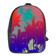 Tropical Coconut Tree School Bags(large)