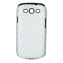 Web Grey Flower Pattern Samsung Galaxy S Iii Classic Hardshell Case (pc+silicone) by Jojostore