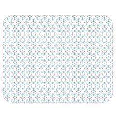 Web Grey Flower Pattern Double Sided Flano Blanket (medium)