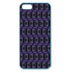 Psychedelic 70 S 1970 S Abstract Apple Seamless Iphone 5 Case (color) by Nexatart