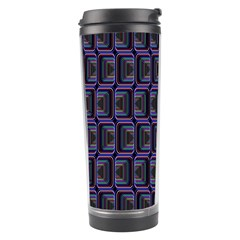 Psychedelic 70 S 1970 S Abstract Travel Tumbler by Nexatart