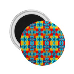 Pop Art Abstract Design Pattern 2 25  Magnets