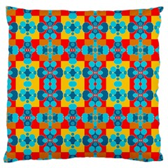 Pop Art Abstract Design Pattern Large Cushion Case (two Sides)