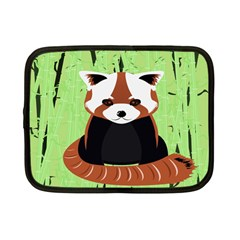 Red Panda Bamboo Firefox Animal Netbook Case (small)