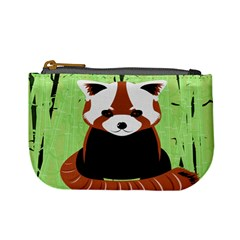 Red Panda Bamboo Firefox Animal Mini Coin Purses