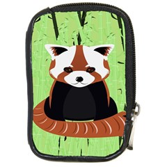 Red Panda Bamboo Firefox Animal Compact Camera Cases