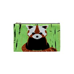 Red Panda Bamboo Firefox Animal Cosmetic Bag (small)